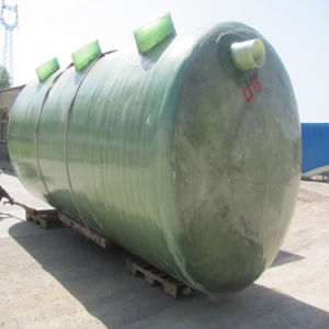 Fiberglass Waste Biological Treatment Used Septic Tank pictures & photos