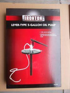 Manual Grease Dispenser 5 Gallon Grease Gun Filler Pump pictures & photos