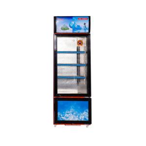 358L Swing Glass Door Vertical Double Temperature Showcase pictures & photos