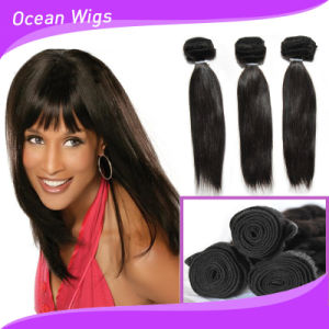 Hot Sale 100% Peruvian Human Hair Extension Buy Cheap Silky Straight Human Hair Weaving pictures & photos