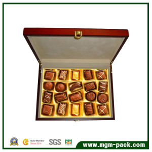 Wholesale Brown Wooden Box for Gift and Chocolate Packing pictures & photos