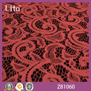 Lita Hot Sale Jacquard Lace Fabric for Garment Accessories (Z81060)