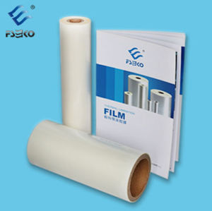 Super Stick BOPP Thermal Lamination Film-35mic Glossy pictures & photos