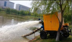 Lift Non-Clog Dewatering Trash Water Pump pictures & photos