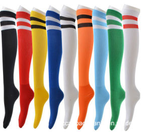 Best Quality Fancy Knee High Soccer Socks pictures & photos