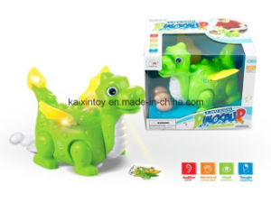 Battery Operated Flying Dragon Toys with Flashing Light and Music pictures & photos