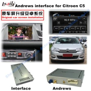 GPS Navigation WiFi Bluetooth Android for Citroen-Peugeot-Ds C4, C5, C3-Xr pictures & photos