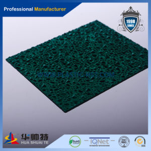 Lexan Popular Solid Corrugated PC Embossed Sheet pictures & photos