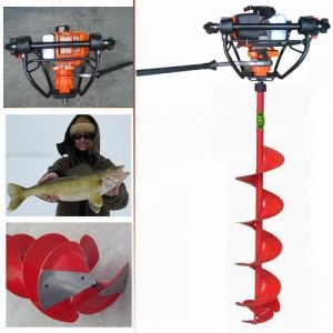 60cc Quick-Stop Fishing Ice Driller Hole Borer Auger Digger pictures & photos
