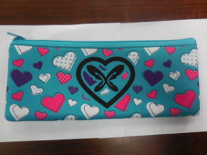 Lovely Colorful Cosmetic Bag Long Purse Kit for Make up pictures & photos