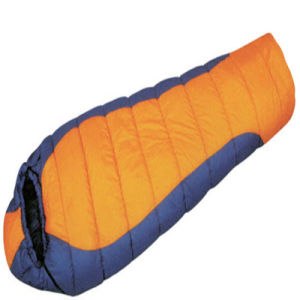 Adult Customized Winter Thicker Orange Camping Sleeping Bag
