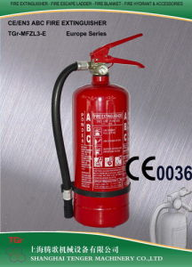3kg ABC Dry Powder Fire Extinguisher (Blue/Yellow) -CE Approved pictures & photos