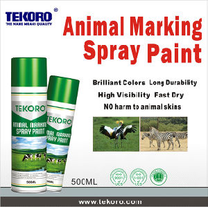 Tekoro Visible Animal Marker Spray Paint pictures & photos