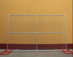 6FT*12FT USA Standard Temporary Construction Chain Link Fence Panel pictures & photos