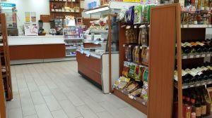 Wood Grain Supermarket Commercial Gondola Shelving pictures & photos