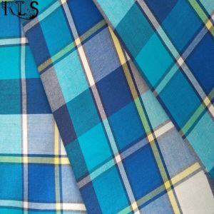 Cotton Poplin Woven Yarn Dyed Fabric for Garments Shirts/Dress Rls40-18po pictures & photos
