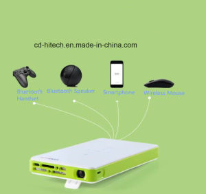 Q6 Coolux Mini Pocket Portable Projector Designed for Smart Mobile Phone, etc.