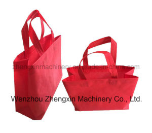 Best Non Woven Fabric Box Handbag Making Machine Zxl-E700 pictures & photos