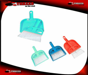 Mini Car Dustpan and Brush (WK17005) pictures & photos