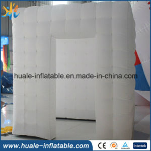 White Cloth Exhibition Advertising Activity Party Inflatable Family Event Tent