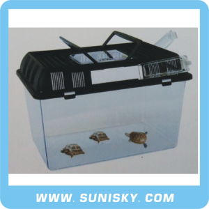 Tansparent Plastic Turtle Box Reptiles (SPC-420) pictures & photos