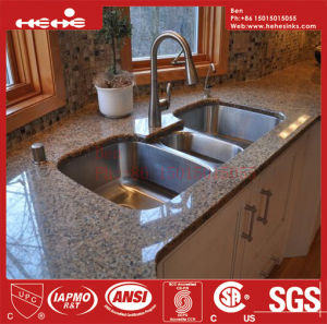 Stainless Steel Under Mount Triple Bowl Kitchen Sink with CSA Approved pictures & photos