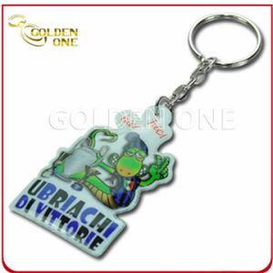 Fashion Custom Silk-Screen Cartoon Soft PVC Keychain pictures & photos