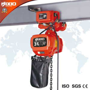 3 Ton Industrial Building Electric Chain Hoist with Trolley (KSN03-02) pictures & photos