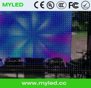 High Resolution P10 LED DJ Light Curtain Display Screen Video Flexible LED Curtain for Stage Backdrops pictures & photos