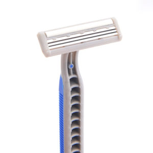 Twin Blade Good Quality Sweden Stainless Steel Disposable Razor pictures & photos