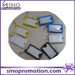Plsatic Keychain Name Tag Promotional Gift pictures & photos