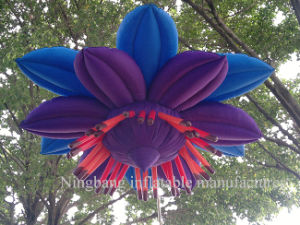 Beautiful Giant LED Inflatable Flower for Wedding Event Decoration