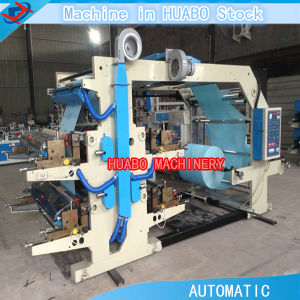 Four Color Non Woven Bag Printing Machine pictures & photos