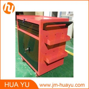 550lbs Loading Powder Coated Metal Movable 2 Lockable Doors Tool Chest pictures & photos