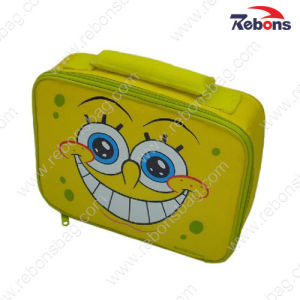 Designer Cute Cartoon Yellow Kids School Lunch Cooler Bags pictures & photos