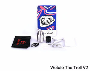 New Upgraded Wotofo The Troll V2 Rda Atomizer From a&D Industries pictures & photos