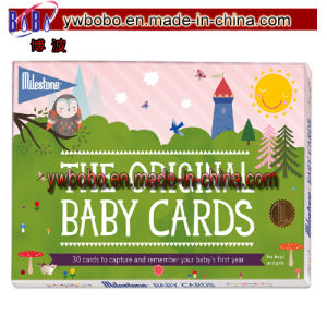 Baby Card Newborn Child Christening Baby Shower Gift (BO-2013) pictures & photos