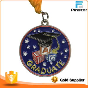Personalised Soft Enamel Graduation Medals with Ribbon pictures & photos
