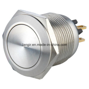 19mm Micro-Trip Stainless Steel Vandal Resistant Switch with Momentary Normal Open pictures & photos