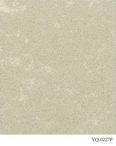 Quartz Stone Kitchen Design (YQ-0227P) pictures & photos