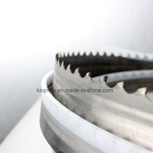 Titanium Alloy Cutting Carbide Tipped Bandsaw Blades pictures & photos