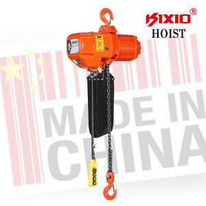 1 Ton Hook Chain Hoist with Gear Reduction AC Motors pictures & photos