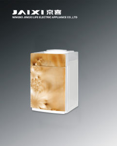 Hot and Cold Desktop Glass Water Dispenser with Electric Cooling