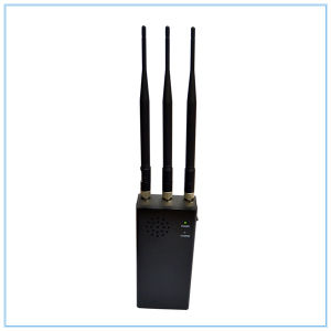 Portable All Remote Controls RF Signal Jammer (315/433/868MHz) , New Black Handheld RC Jammer (868MHz/ 315MHz/ /433MHz) pictures & photos
