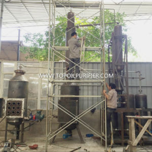 Waste Black Pyrolysis Oil Engine Oil Distillation Machine (EOS Series) pictures & photos
