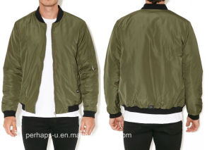 Classic Mens Waterproof Bomber Jacket with Custom Logo pictures & photos