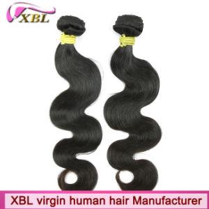 Nautral Black Body Wave No Tangle Brazilian True Virgin Hair pictures & photos