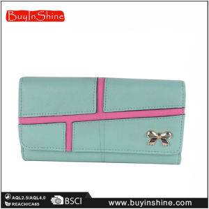 Fashion Green Lady ′s PU Purse