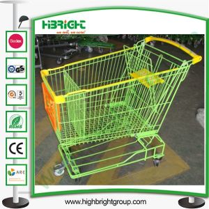 Supermarket Shopping Cart with Best Wheels pictures & photos