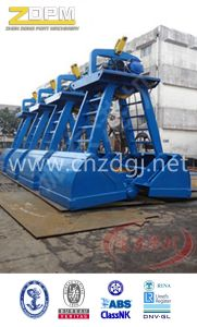 Single Rope Motor Electric Clamshell Grab for Sale pictures & photos